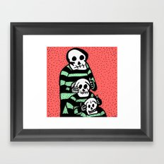FAMILY TOTEM. Framed Art Print