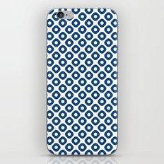 kanoko in monaco blue iPhone & iPod Skin