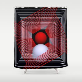 experiments on geometry -4- Shower Curtain