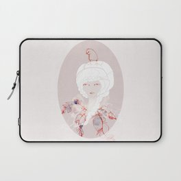 Portrait with Chick Laptop Sleeve
