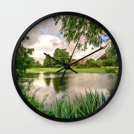 Summer Escape Wall Clock