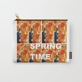 It is Spring Time     by    Kay Lipton Carry-All Pouch