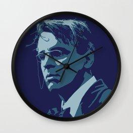 W. B. Yeats Wall Clock