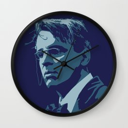 W. B. Yeats Wall Clock