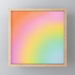 The Rainbow of Love #abstract #colourlove Framed Mini Art Print
