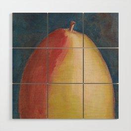 Pear Painting Wood Wall Art