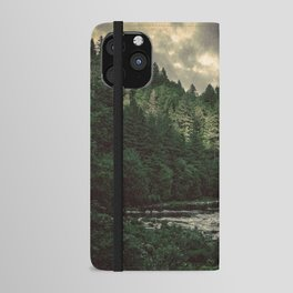 Pacific Northwest River - Nature Photography iPhone Wallet Case