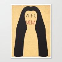 WTF is MDNA Canvas Print