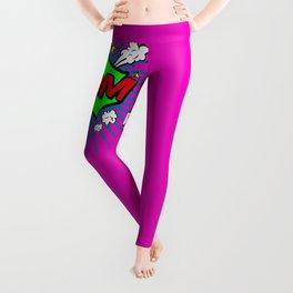 Boom Pink Boom Leggings