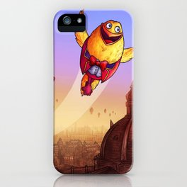"""""""Humpty Dumpty"""" Page Sample 2 (Mother Goose Retold-Trumble Book) iPhone Case"""