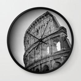 Coliseum Rome. Italy 72 Wall Clock