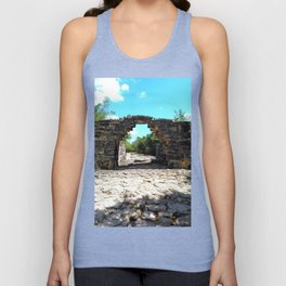 A Mayan Archway Unisex Tank Top