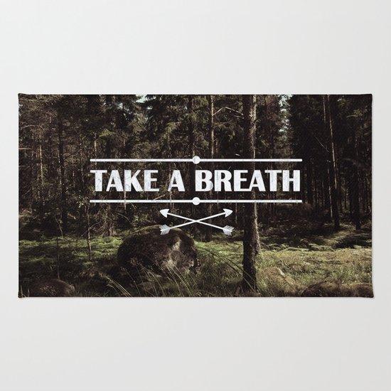 Take a breath Rug