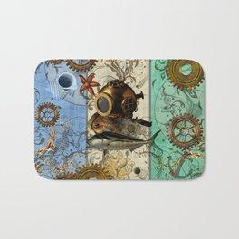 Nautical Steampunk Bath Mat