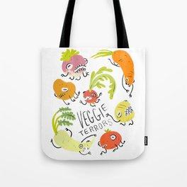 Veggie Terrors Tote Bag