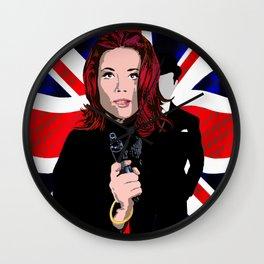 Emma Peel Wall Clock