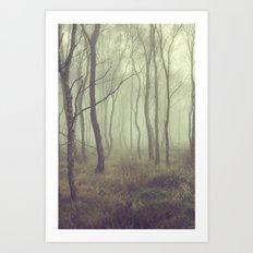 More Misty Mornings Art Print