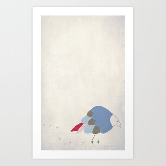 Bird prints Art Print
