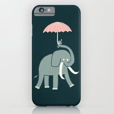 Elephant with umbrella iPhone 6s Slim Case
