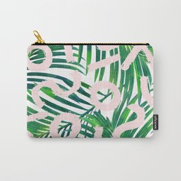 Palm Blabber #society6 #decor #buyart Carry-All Pouch