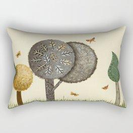 Autumn Butterflies Rectangular Pillow