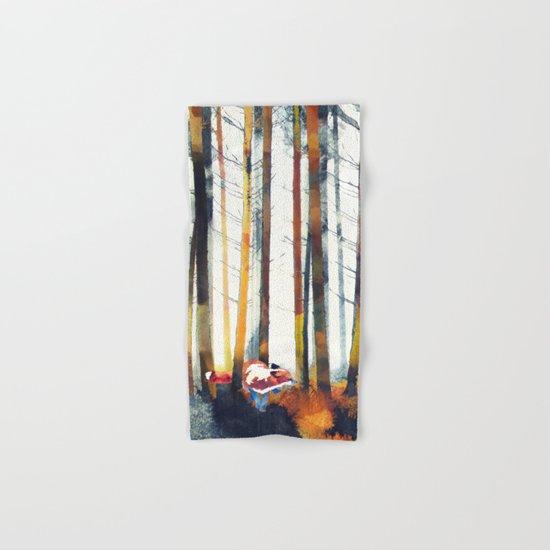 Autumn Hunt Hand & Bath Towel