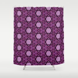 Blueberry blossom 1 Shower Curtain