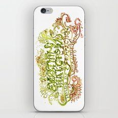 Perfection but a little moment - Sonnet 15 Quote Art iPhone & iPod Skin