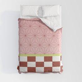 nezuko pattern Comforters