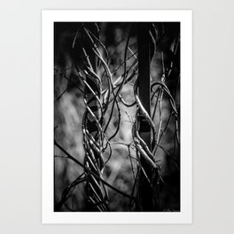 Twisted & Tangled Art Print