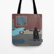 Darth Vader traffic Tote Bag