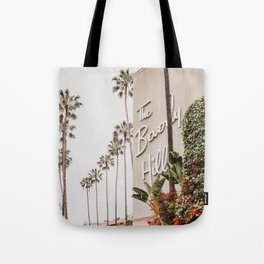 The Beverly Hills Hotel / Los Angeles, California Tote Bag