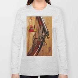 Old Double Barrel Stevens Long Sleeve T-shirt