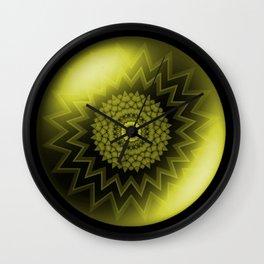 Solar Plexus Yellow Chakra Wall Clock