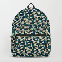 Colorful Triangles Pattern 3 Backpack