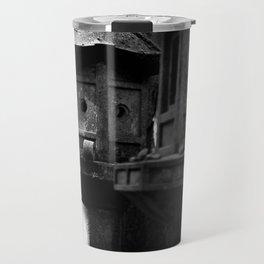 Japanese Stone Lanterns Travel Mug