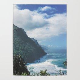 Na Pali Coast Kauai Hawaii Poster