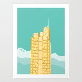 Herron Tower Art Print