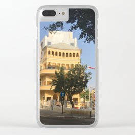 Tel Aviv Pagoda House - Israel Clear iPhone Case