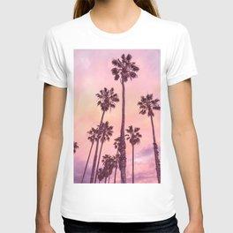 Palms to Pink World T-shirt