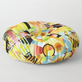 Art Deco Maximalist Floor Pillow