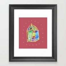 mystery of childhood. Framed Art Print