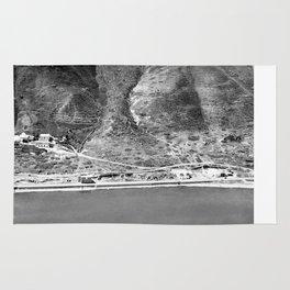 The hot springs. Western shore of Sea of Galilee Rug