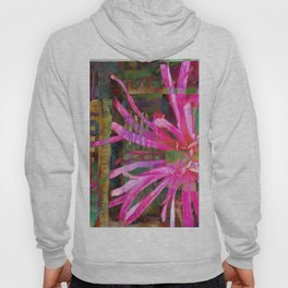 Electric Floral Burst Hoody
