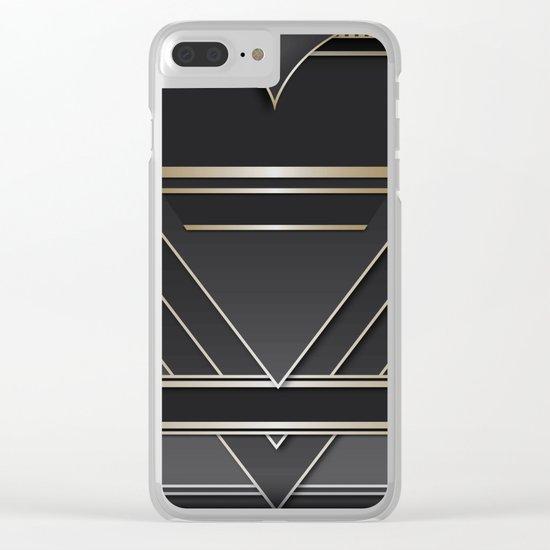 Art deco design IV Clear iPhone Case