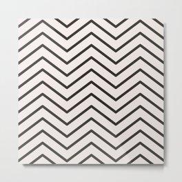 Pattern ripples Metal Print
