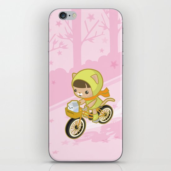 Blossom Ride iPhone & iPod Skin