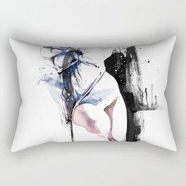 Shibari - Japanese BDSM Art Painting #4 Rectangular Pillow