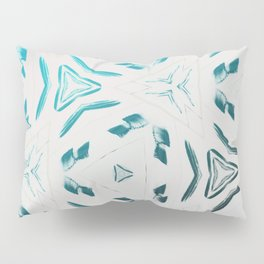 Chillin Blue Pattern Pillow Sham