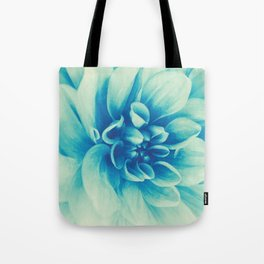 Blue Beauty (Spring Blooming Dahlia) Tote Bag